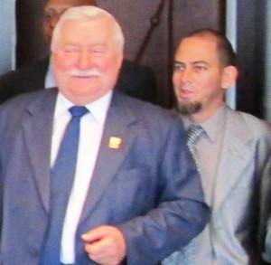 En encuentro con Lech Walesa en la fundación que lleva su nombre, en Varsovia