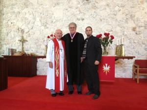 En la condecoración del Dr. Marcos Antonio Ramos una semana antes celebrando el Día de la Reforma Protestante