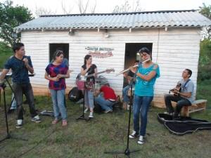 Vistas de celebraciones en la Iglesia Bautista ¨Resurrección¨ de Rosalía