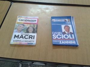 @mauriciomacri vs. @danielscioli ¡Las cartas están sobre la mesa!
