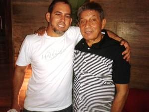Junto a Nicky Cruz en su Campaña 2015 en Argentina