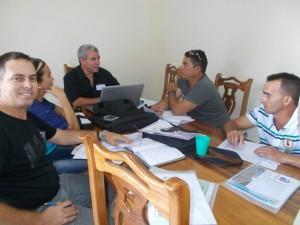 Pensando a Cuba en el trabajo con mi equipo