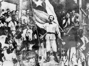 El 10 de octubre de 1868, en el ingenio conocido como La Demajagua, el abogado patriota Carlos Manuel de Céspedes (1819-1874) liberó a sus esclavos y declaró la lucha por la independencia de Cuba. Esta es La Demajagua nueva.