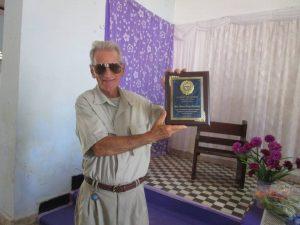 El laico católico Amador Blanco Hernández fue el premiado por Patmos en 2014